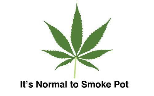 It's Normal to Smoke Pot