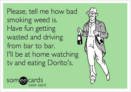 Please, tell me how bad smoking weed is.