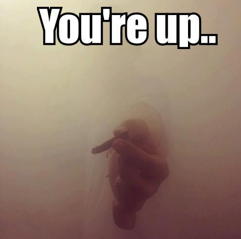 You're up..