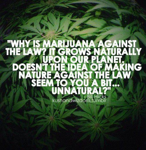 why is marijuana against the law?