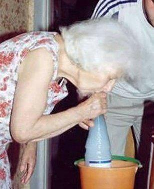gravity bong for granny