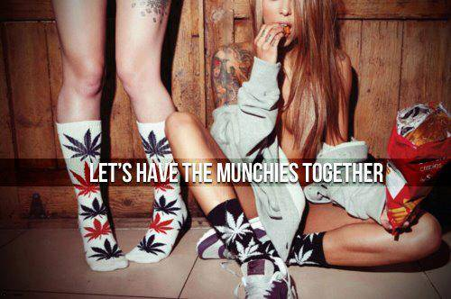 let's have the munchies together
