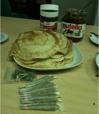 Pancakes and weed