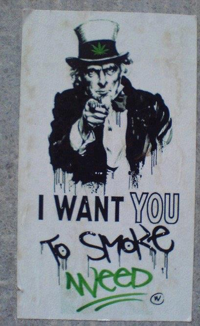 I want you to smoke weed