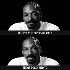 snoop dogg: blunts
