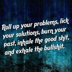 Roll up your problems