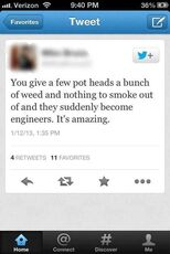 Give a few potheads a bunch of weed and nothing to smoke out of and they become engineers